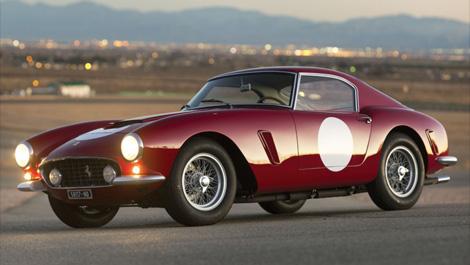 Deux Ferrari vendues plus de huit millions chacune