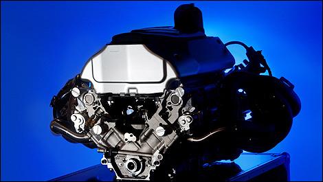 F1 Renault engine V8