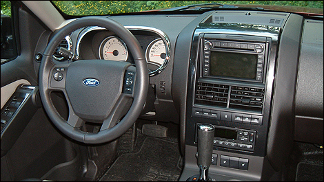 2008 Ford Explorer Sport Track interior