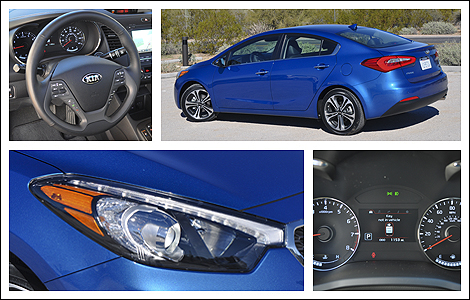 on The 2014 Kia Forte Is Now Competitive  Contemporary And Replete With