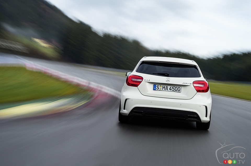 New Mercedes-Benz A 45 AMG ready to be unleashed in Geneva