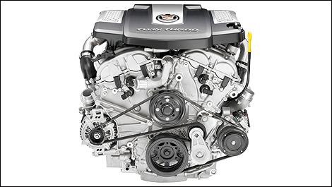 Cadillac announces 420-hp twin-turbo V6 engine