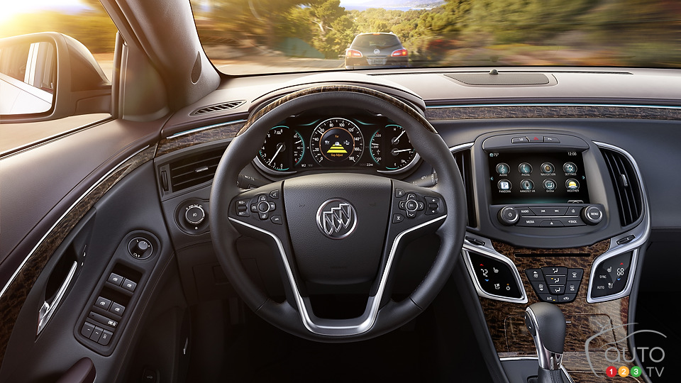 Buick set to launch 2014 LaCrosse in New York
