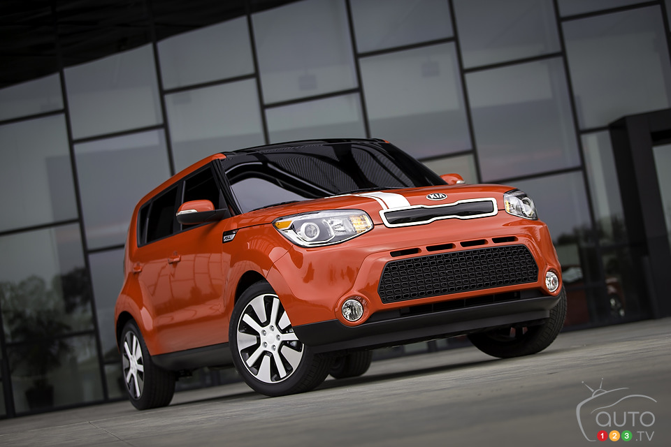 La Kia Soul 2014 d�voil�e au Salon de New York