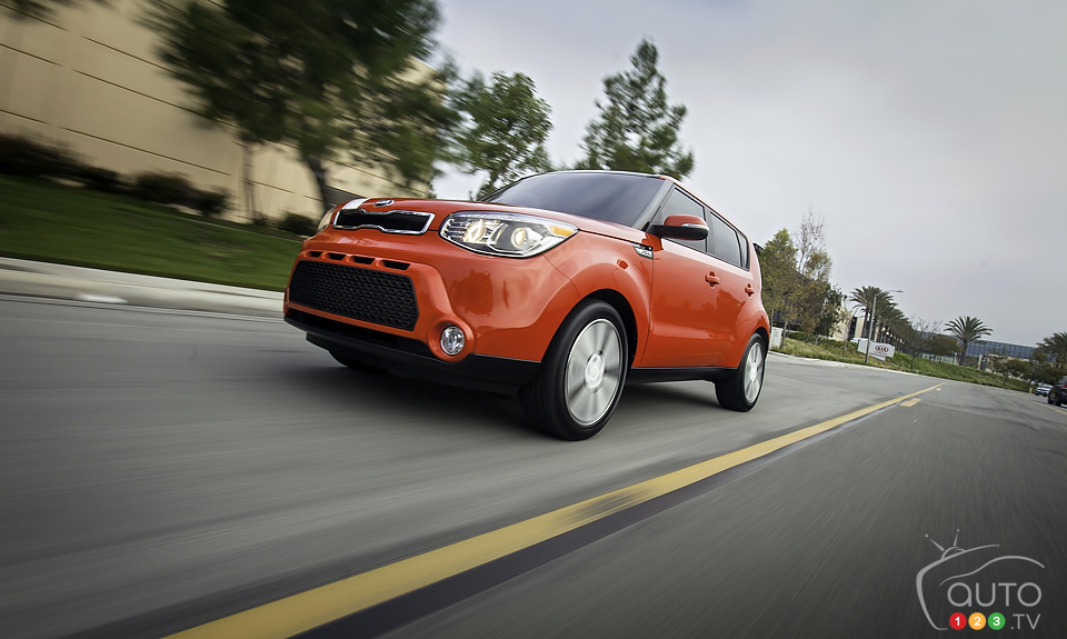 2014 Kia Soul unveiled in New York