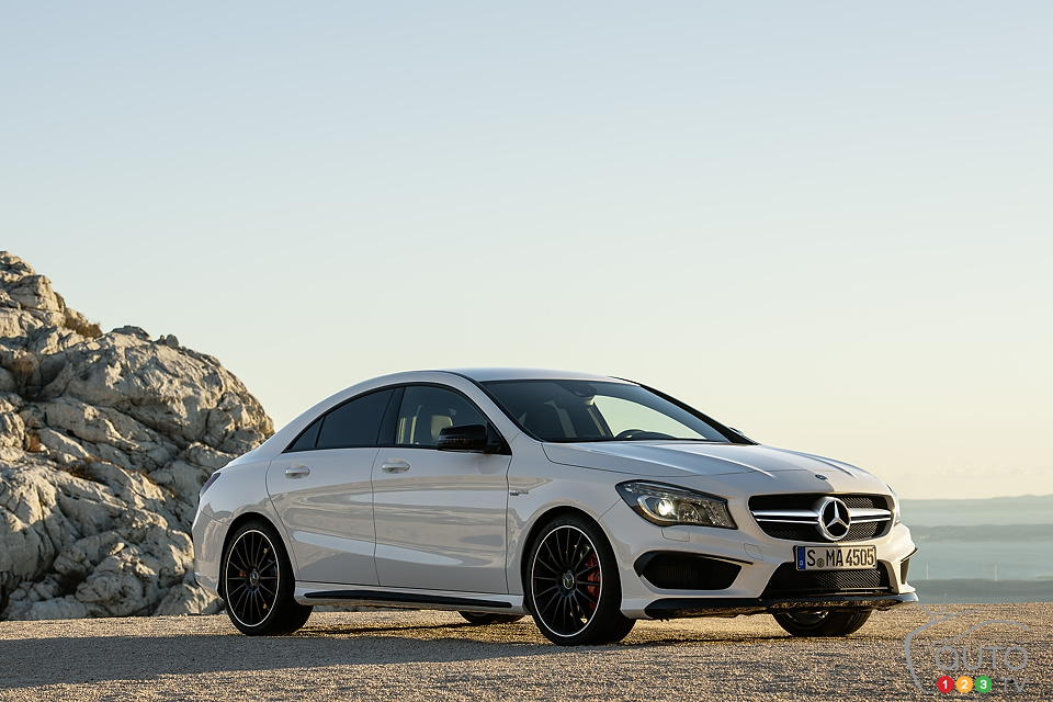 Mercedes-Benz launches 2014 CLA 45 AMG