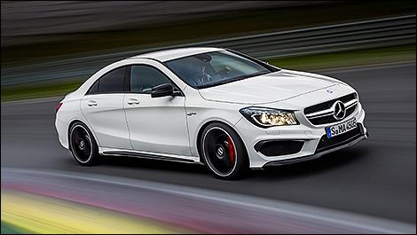 Mercedes benz launches 2014 cla 45 amg car news auto123 for Mercedes benz cla45 amg 0 60