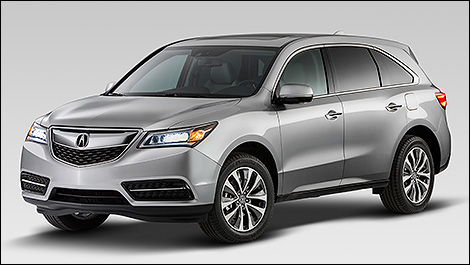 Acura Recalls on Acura Mdx Officially Dresses For 2014 In New York   Car News   Auto123