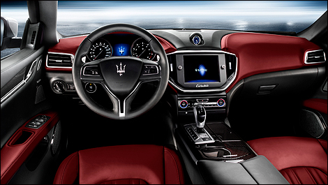 maserati ghibli i2 Maserati releases first official images of all new Ghibli sedan