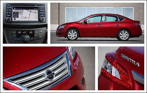 2013 nissan sentra 1 8 sv sl review. Black Bedroom Furniture Sets. Home Design Ideas