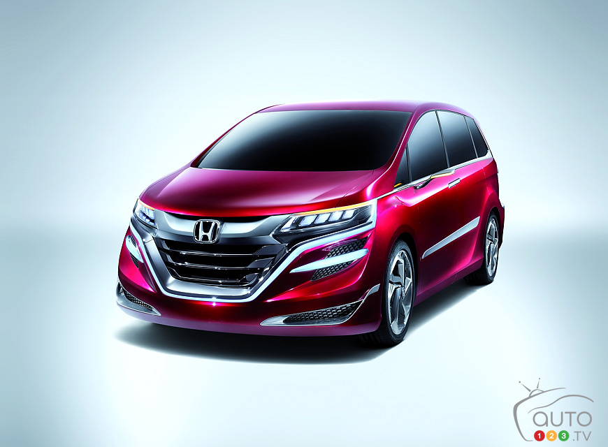 Honda launches ''Concept M'' at Auto Shanghai 2013