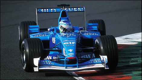 Benetton, equipe histórica da Formula 1 de 2001 - by speednthrash.blogspot.com