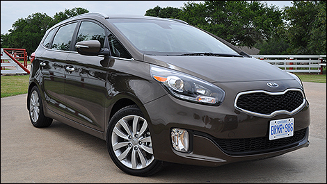 on The 2014 Kia Rondo Is A Compact Crossover That May Moonlight As A