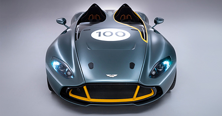 Pictures of the Aston Martin CC100 Speedster Concept