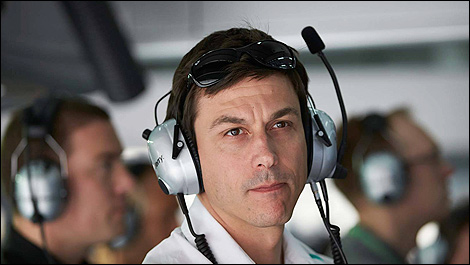 F1 Mercedes AMG Toto Wolff