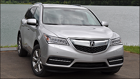 Acura  on The 2014 Acura Mdx Is A Large Midsize Luxury Crossover That
