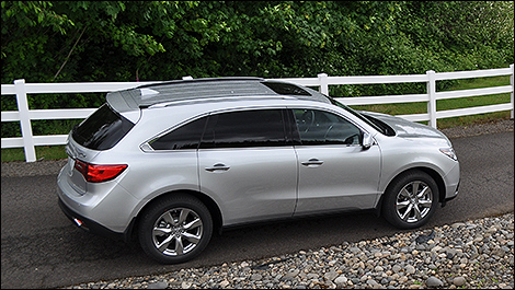 Acura  on The 2014 Acura Mdx   S Handling  Ride Harshness  And Road Noise Are