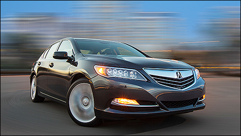Elite Acura on All New 2014 Acura Rlx Starting At  49 990   Car News   Auto123