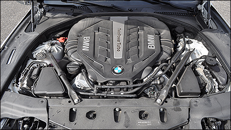 2013 BMW 650i xDrive Gran Coupe engine