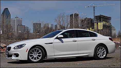 2013 BMW 650i xDrive Gran Coupe side view