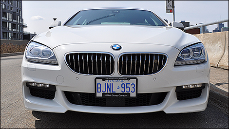 2013 BMW 650i xDrive Gran Coupe front view