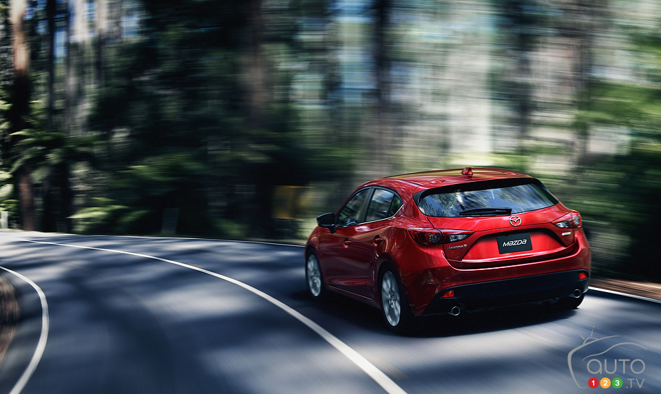 Redesigned 2014 Mazda3 unveiled in New York