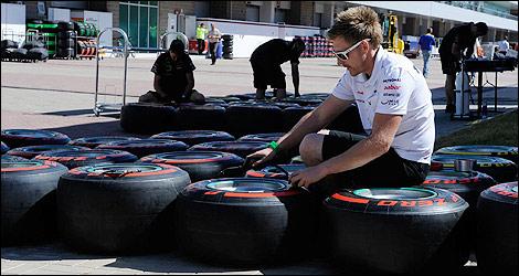 F1: La FIA autorise des essais Pirelli avec les monoplaces 2013