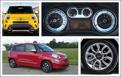 fiat 500l 2014 premi res impressions nouvelles auto123. Black Bedroom Furniture Sets. Home Design Ideas