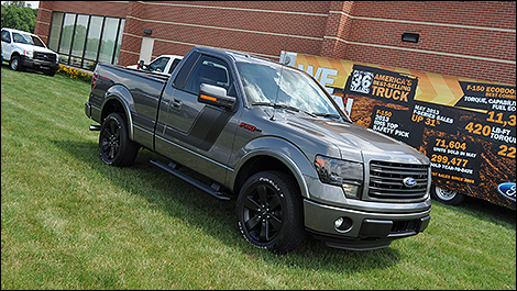 2014 Ford F-150 Tremor 3/4 view