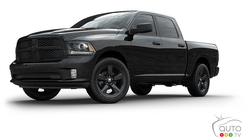 Ram Black Express: loaded with attitude