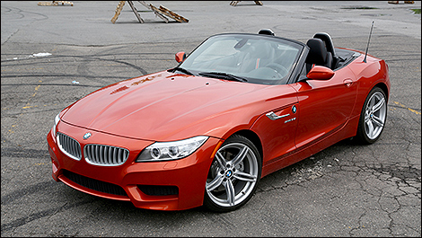 2014 Bmw Z4 Reviews From Industry Experts Auto123