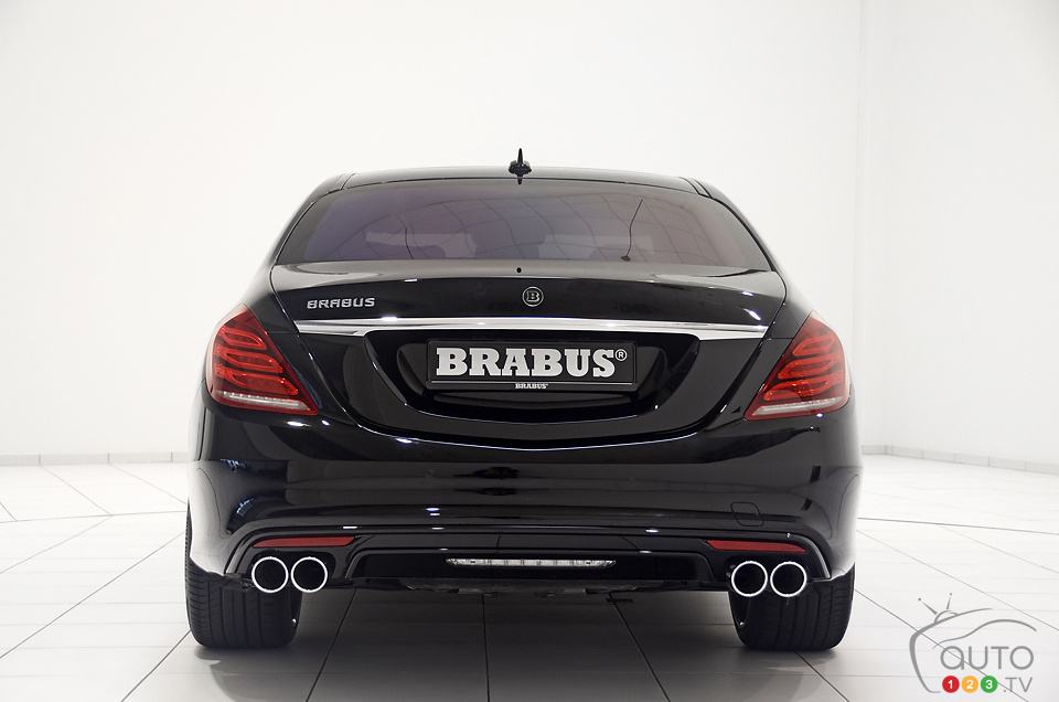 BRABUS cranks Mercedes-Benz S-Class up to 730 hp
