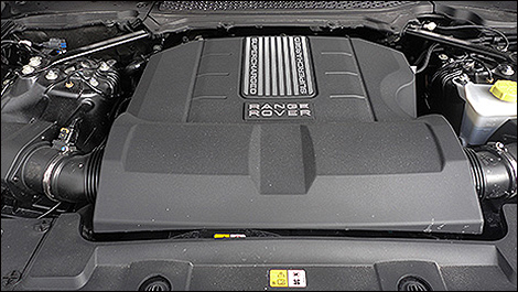 2013 Range Rover Supercharged engine