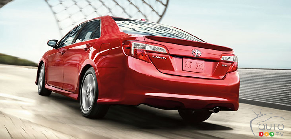 2014 Toyota Camry: starting at $23,700