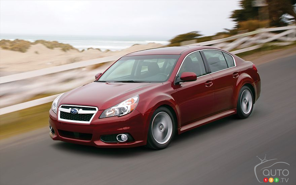 2014 Subaru Legacy: Starting at $23,495