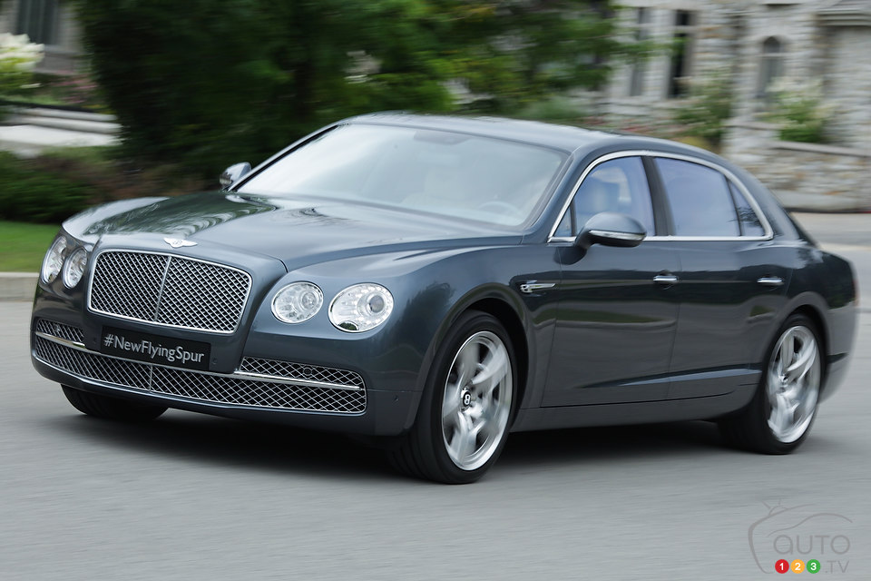 2014 bentley continental flying spur w12 mulliner first impressions. Cars Review. Best American Auto & Cars Review
