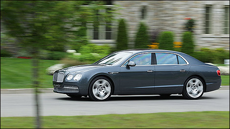 2014 Bentley Continental Flying Spur W12 Mulliner side view