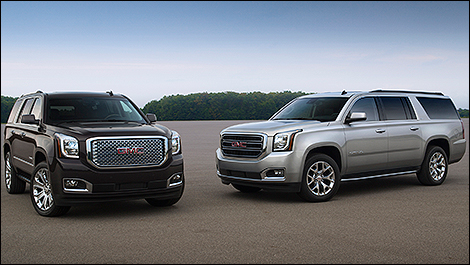 2015 GMC Yukon 3/4 view