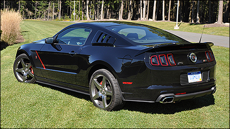 2014 Ford Mustang Roush Stage 3 3/4view