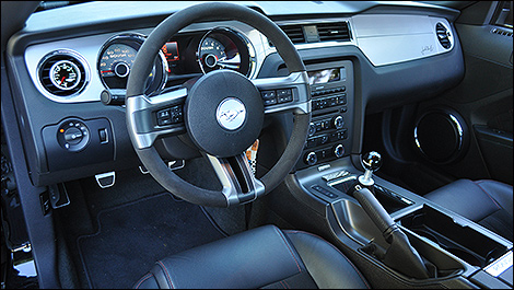 2014 Ford Mustang Roush Stage 3 cabin