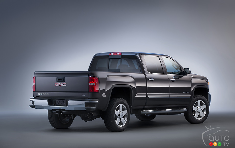 GM unveils 2015 Chevrolet Silverado HD and GMC Sierra HD