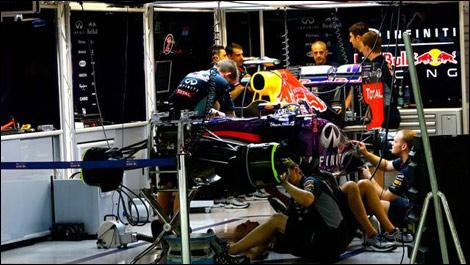 Red Bull garage, Singapore