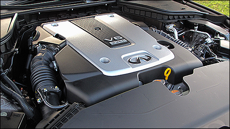 2014 Infiniti Q50 engine