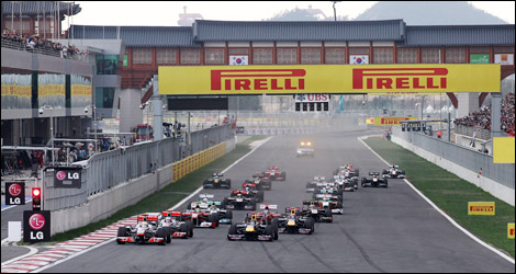 F1 Pirelli Korean grand prix