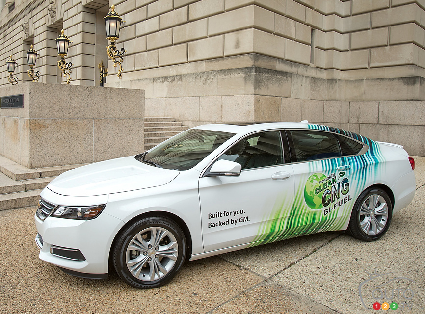 Chevrolet announces bi-fuel Impala