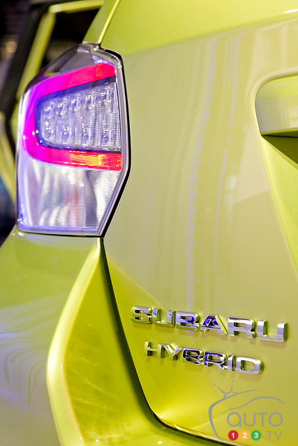 Subaru XV Crosstrek Hybrid to go on sale next month
