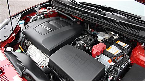 2012 Suzuki Kizashi Sport engine