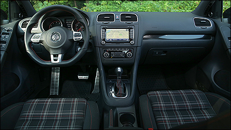 2013 Volkswagen Golf GTI Wolfsburg edition cabin