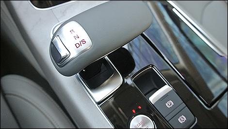 2015 Audi A8 shifter