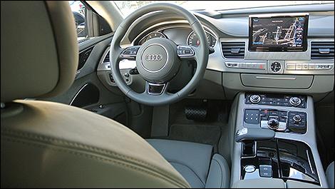 2015 Audi A8 cabin
